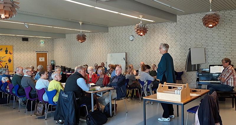 Højskolesang i Sct. Klemens Kirke - Ældre Sagen Bornholm