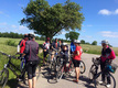 14. juni 2018. Cykelgruppe Nexø på tur.