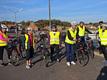 10. oktober 2018. Cykelgruppe Nexø på tur. Aarsdale Havn.