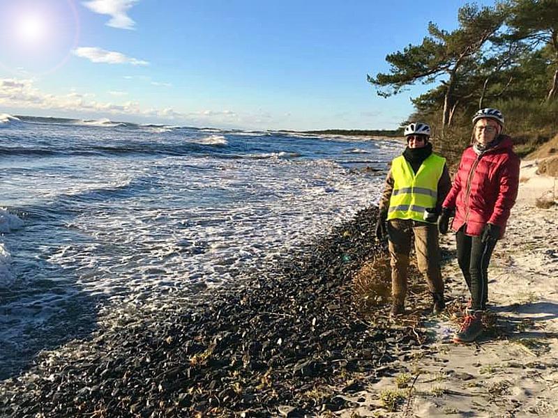 2. marts 2019. Cykelgruppe Nexø på tur.