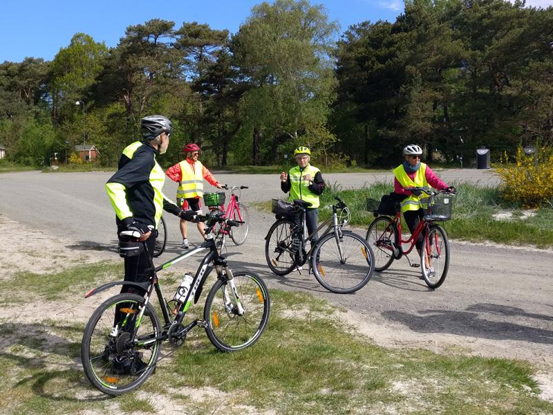 29. maj 2019. Cykelgruppe Nexø på tur.