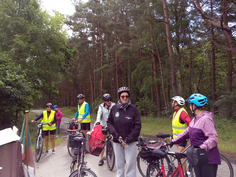 8. juli 2020. Cykelgruppe Nexø på tur.