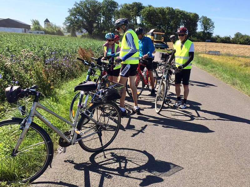 22. juli 2020. Cykelgruppe Nexø på tur.