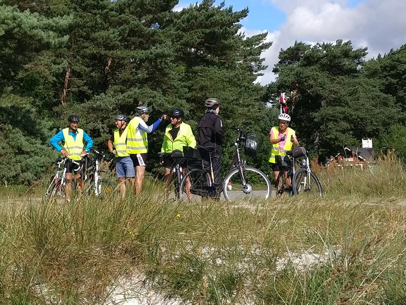 29. juli 2020. Cykelgruppe Nexø på tur.