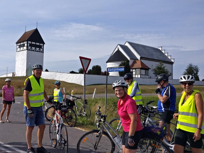 19. august 2020. Cykelgruppe Nexø på tur.