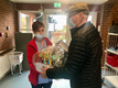 Den 1. december 2020 var Ældre Sagen Bornholms julekaner på tur rundt på Bornholm.