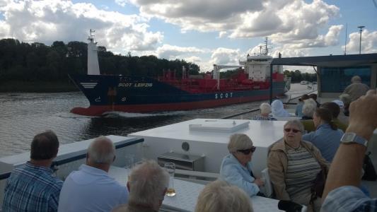 2017: Sejltur på Kieler kanalen / Nordostsee Kanal