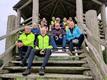Cykelgrupperne fra Nexø og Rønne samlet (foto: Kørvel)